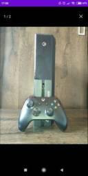 Xbox one com controle + 3 jogos