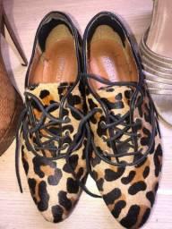 Sapato couro nr 36