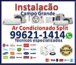 Instalação de Ar Condicionado Spit Campo Grande