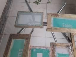 Bazar do Silk Screen Veja a descrição