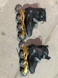 Vendo roller oxer urgente excelente estado 37/39 R$250,00