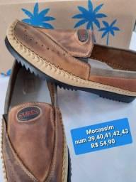Sapato Mocassim Sagres Castor masculino