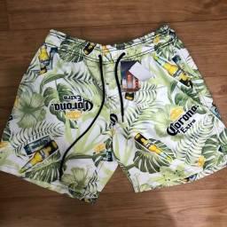 Short moda praia mauricinho