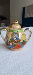 Açucareiro porcelana japonesa antigo