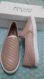 Sapato salto rasteiro