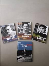 Quatro DVDs mas livro intergrante capa Dura. Por apenas 40,00 reais.