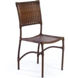 Cadeira de mesa fibra