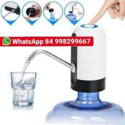 Bebedouro Elétrico De Água Digital Recarregável Usb<br><br>