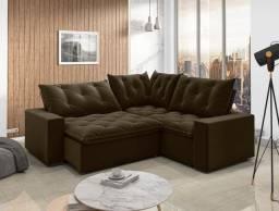 Sofa canto Retrátil Reclinável Londres
