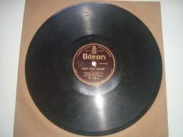 Odeon, Rio de Janeiro, Lote com 2 discos 78 rpm, 10 polegadas