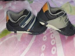 Lote de sapatos menino do 17 ao 21