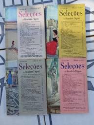 4 Revistas SELEÇÕES de 1957