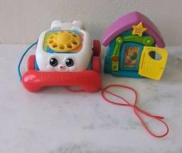 Telefone de Brinquedo Mattel