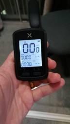 Ciclocomputador com GPS Xoss G+ conecta Strava Faço em 10X sem Juros!