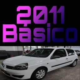 Clio 2011 básico financia 100% saiba mais *