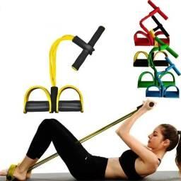 Elástico Tensão Exercícios Tubefit Yoga Pilates Musculação