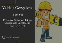 Serviço de construção civil em geral