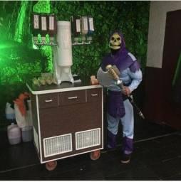 Máquina de sorvete! Em excelente estado!!!