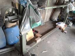 Lixadeira Industrial de Mesa para Metal e Madeira