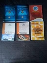 Kit teologia, devocionais e estudos bíblicos