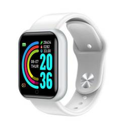 021 D20 Y68 Smartwatch Relógio Inteligente Homens Mulheres