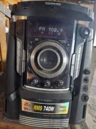 Som lg 700 watts Super barato, aproveite que é só um. * Leia a descrição