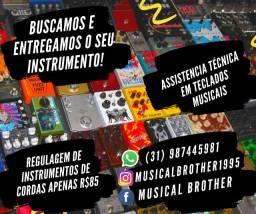 Luthier Em BH? È Na Musical Brother! Melhores preços da cidade!