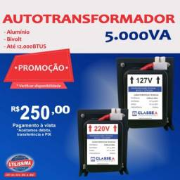 Título do anúncio: Transformador de 5.000 VA