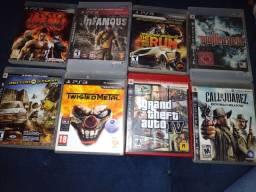 Jogos PS 3 troca