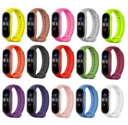 Relógio M5 Bluetooth 4.2 Smartband Monitor Pressão Arterial Smartwatch