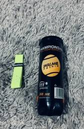 Bola de tênis Prime + Grip Decathlon NOVO