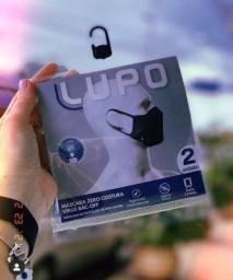 Máscara LUPO, pack com 2. Melhor valor do mercado. Oportunidade!