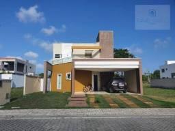 Casa Pronta pra morar em Loteamento Fechado no Eusébio- Jardins do Lago .
