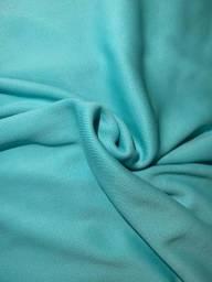 Tecido Helanca Azul Turquesa 100% Poliamida Rolo 70m - 17kg