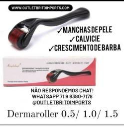 Dermaroller Original - tamanhos 0.5 - 1.0 - 1.5 - Só na outlet brito imports