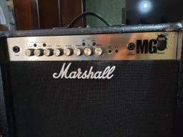 Caixa amplificada guitarra marshall