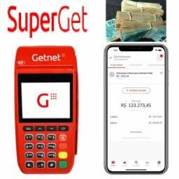 SuperGet - Máquina de Cartão + Melhores benefícios e taxas