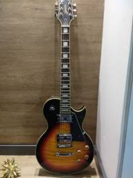 Guitarra golden les paul