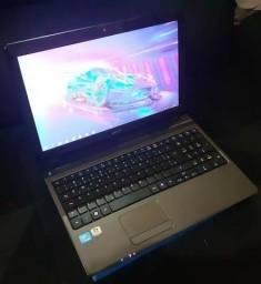 Notebook Acer com 6gb de ram, 500gb de hd etc