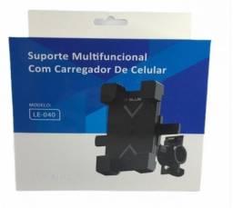Suporte De Guidão Universal Para Bike, Motos, Gps, Celular Le-040 - Itblue