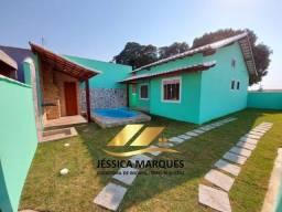 JC-102  Linda casa em Cabo Frio - Unamar  2 quartos com piscina e área gourmet