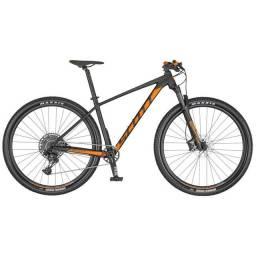 Bicicleta Scott Scale 960 2020 lacrada na caixa