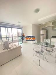 Apartamento Loft Mobiliado no Capuchinhos, 1/4, Varanda, no Santana Flex, Área de 48 m².
