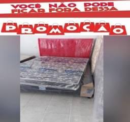 Título do anúncio: Cama Box Casal+Colchão de Espuma Novo Entrega Rápida