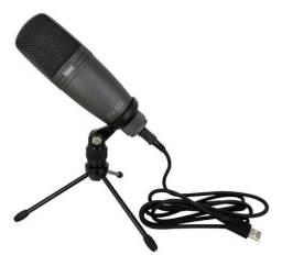 Microfone Novik FNK 02U condensador cardioide preto Novo - Somos Loja