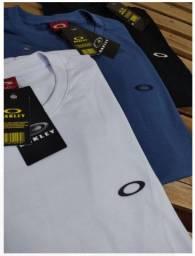 Sacoleiras -  50 Camisetas DeLuxo Malha Premium Fio 30.1  Marcas Famosas - Frete Grátis