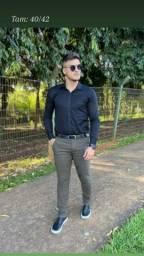 Calças masculina e bermuda Jeans