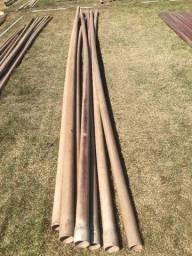 7 Tubos de PVC rígido soldável p/água fria 75 mm