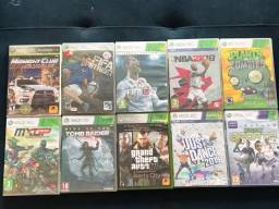 Lote de 10 jogos do Xbox360