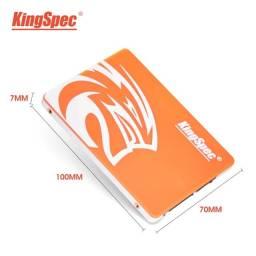 Disco Rígido SSD KingSpec novo para PC e Notebooks 120GB